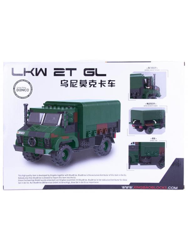 Конструктор XingBao «Военный грузовик Unimog LKW 2T GL» XB-06044 / 411 деталей
