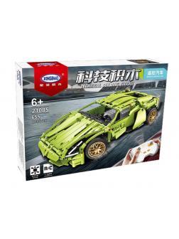 Конструктор XINGBAO «Lamborghini Sian FKP 37» 21005 (Technic) / 655 деталей