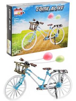Конструктор Pingao Blocks «Велосипед прогулочный» 50006 / 246 деталей