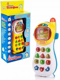 Развивающая игрушка Play Smart «Умный телефон »7028 со светом и звуком / Микс