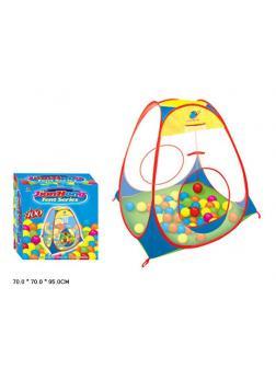 Игровая палатка детская с мячиками Jian Hong 999-55