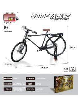 Конструктор Pingao Blocks «Велосипед Come Alive» 50007 / 198 деталей