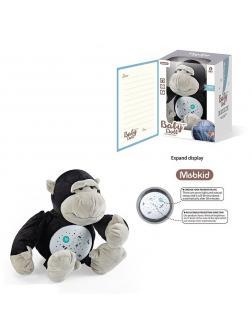 Мягкая игрушка-ночник «Обезьянка» с проектором и музыкой / MBQ661-10А