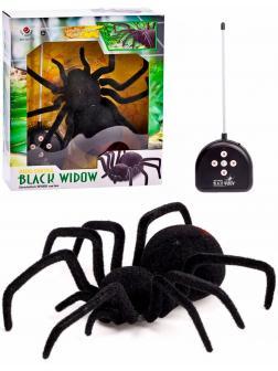 Паук радиоуправляемый «Чёрная вдова» 779, работает от батареек, световые эффекты