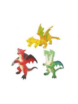 Фигурка «Дракон» со звуковыми эффектами 001М-1, 17 см. / Микс