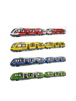 Металлический трамвай 1:64 А1805B свет и звук, инерционный / Микс