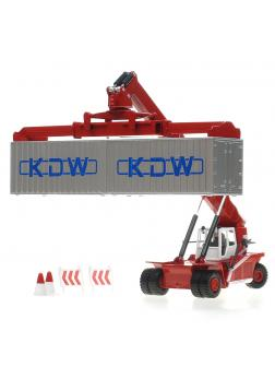 Металлическая машинка 1:50 «Погрузчик контейнеров» А620036 / Микс