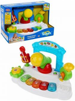 Музыкальная игрушка Play Smart «Пианино Караоке» 7507, Умняга