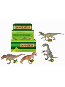 Фигурки животных резиновые «Dinosurs» Q9899-097 / Микс
