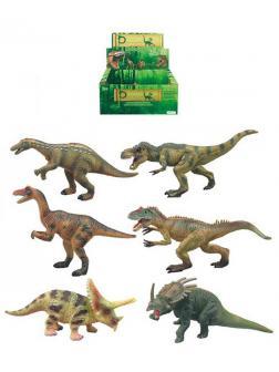 Набор фигурок Мир Юрского Периода «Динозавры» 18 см. 6 шт., Q9899-ZJ77 / микс