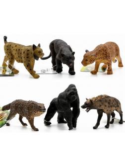 Фигурки-игрушки «Животные Африки» 6 шт. Q9899-276