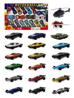 Набор металлических машинок «Motor Wheels» 9275320 / 20 штук