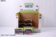 Машинка металлическая Play Smart 1:64 «Мини Авто: Пожарная техника» 6391-4 / Микс