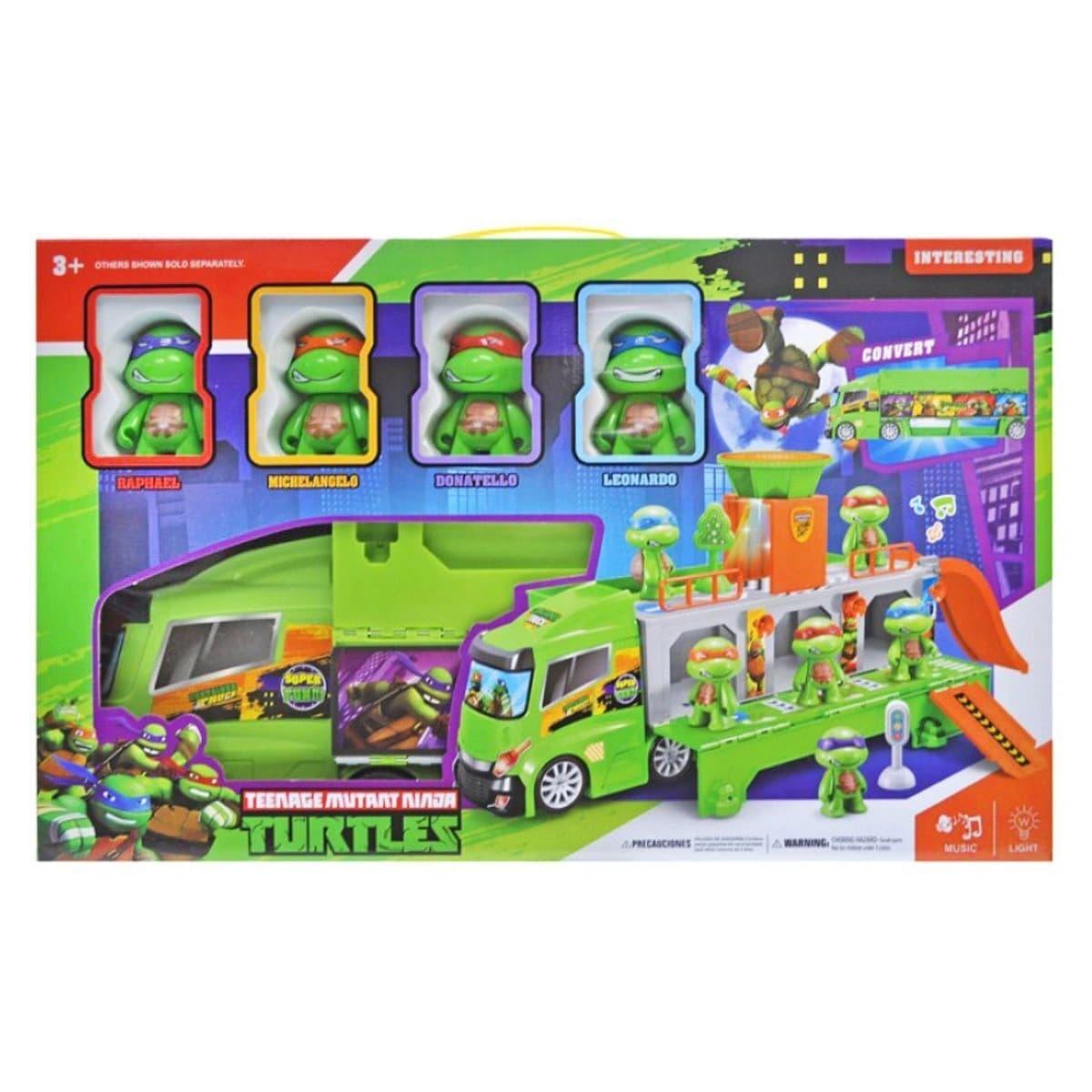 Игровой набор «Черепашки ниндзя и трейлер» H4491