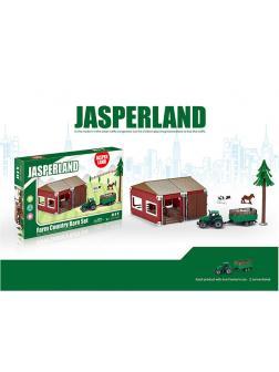 Игровой набор фермерской техники с ангаром «Jasper Land» 5279-33