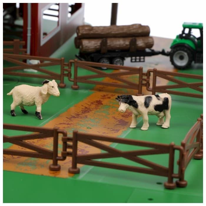 Игровой набор фермерской техники с ангаром «Jasper Land» 5279-35