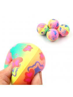 Мячик «Бабочки» 6,3 см. H6334 / Микс