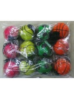Детский мяч на веревочке 4,7 см. E02-170 / Микс