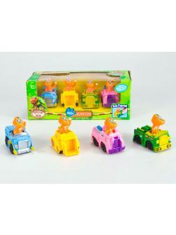 Игровой набор «Поезд с динозавриками» Х505