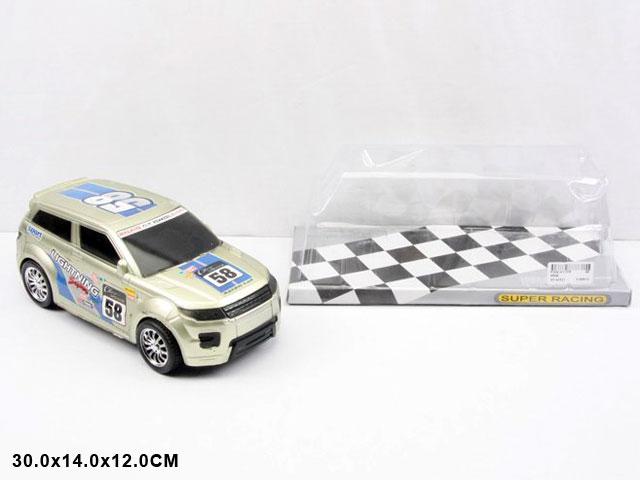 Машинка детская «Super Racing» 956В-2 / Инерционная, со светом