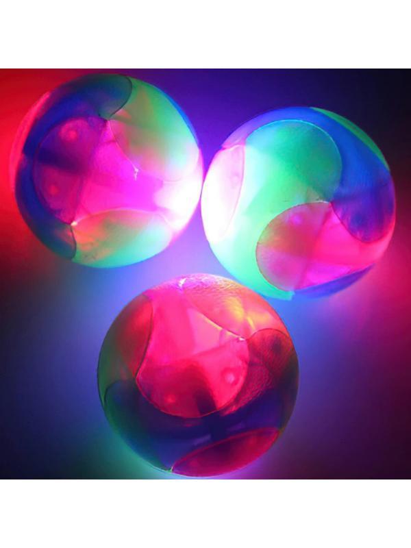 Мяч светящийся «Flaching Bouncing Ball» 5 см. 00090