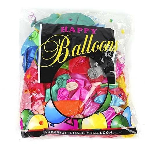 Набор воздушных шаров «Happy Balloons» Е71-243 / 100 шт.