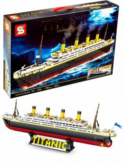 Конструктор SY «Круизный лайнер Титаник» SY0400 / 1333 детали