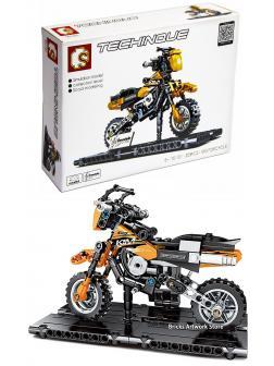 Конструктор Sembo Block «Мотоцикл KTM 350 EXC-F» 701101 / 209 детали