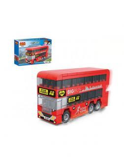 Конструктор COGO «Двухэтажный автобус» 4181 / 123 деталей
