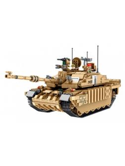 Конструктор Panlos Brick «Британский танк Челленджер 2» 632008 / 1687 деталей