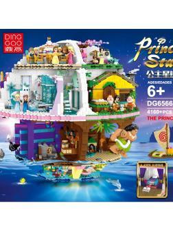 Конструктор DINGGAO «Звезда принцесс Дисней» DG6566 / 4160 деталей