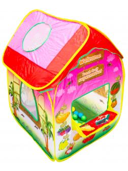 Детская палатка «Супермаркет» с шариками 6029-40