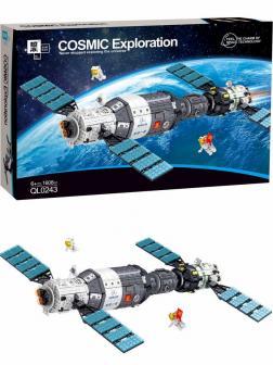 Конструктор Zhe Gao «Космическая станция» QL0243 / 1608 деталей