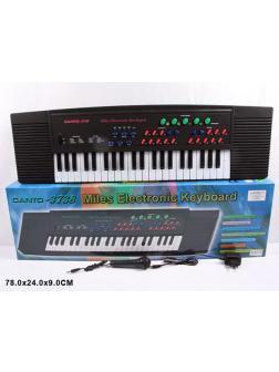 Синтезатор детский с микрофоном «Electronic Keyboard» Canto 3738