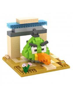 Конструктор Loz «Зеленая птица» 9515 (Angry Birds) 320 деталей