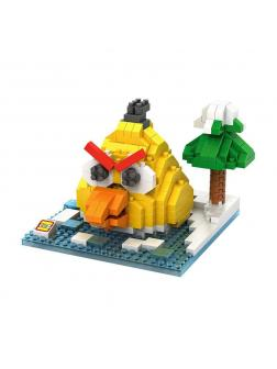 Конструктор Loz «Желтая птица» 9513 (Angry Birds) 370 деталей