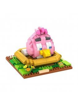Конструктор Loz «Розовая птица» 9517 (Angry Birds) 380 деталей