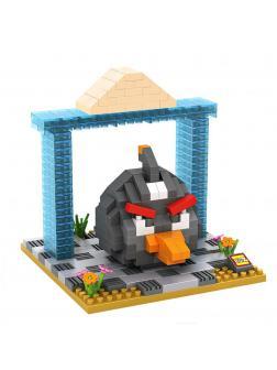 Конструктор Loz «Черная птица» 9518 (Angry Birds) 320 деталей