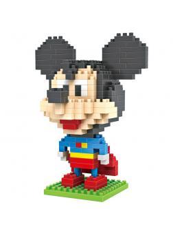 Конструктор Loz «Микки Маус: Супермэн» 9419 / 240 деталей