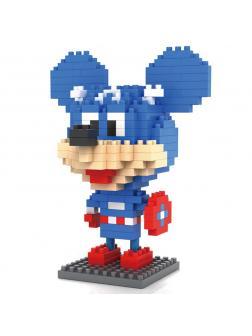 Конструктор Loz «Микки Маус: Капитан Америка» 9421 / 240 деталей