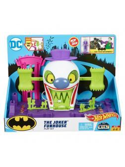 Игровой Набор Hot Wheels Сити Бэтмен «Веселый дом Джокера» GBW51