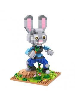 Конструктор Loz «Зверополис: Кролик Джуди» 9722 / 560 деталей