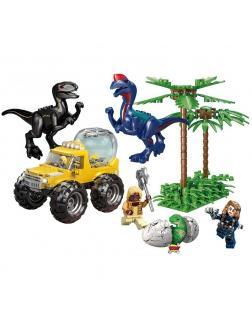 Конструктор «Индораптор и Дилофозавр» 82159 (Jurassic World) 345 деталей