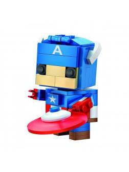 Конструктор Loz «Капитан Америка» 1401 / 142 детали