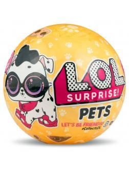 Кукла L.O.L. Surprise Pets Series 3 (Кукла ЛОЛ Питомец) в шаре 549574
