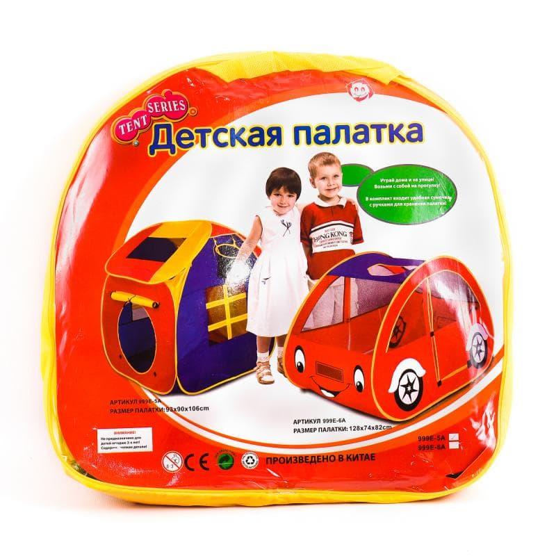Детская палатка «Машина» 93х90х106 cм / 999Е-6А