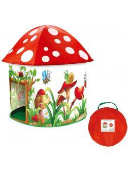 Игровая детская палатка-домик «Веселый мухомор» HF016