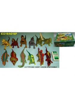 Игрушка-тянучка «Динозавр» 13 см. А016Р / Микс