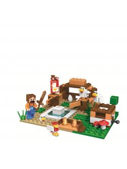 Конструктор Lari Minecraft «Курятник» 10951 / 123 детали