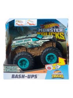 Машинка Hot Wheels Monster Trucks «Бэш Апс Кибер Крашер»